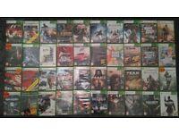 40 Xbox 360 games bundle