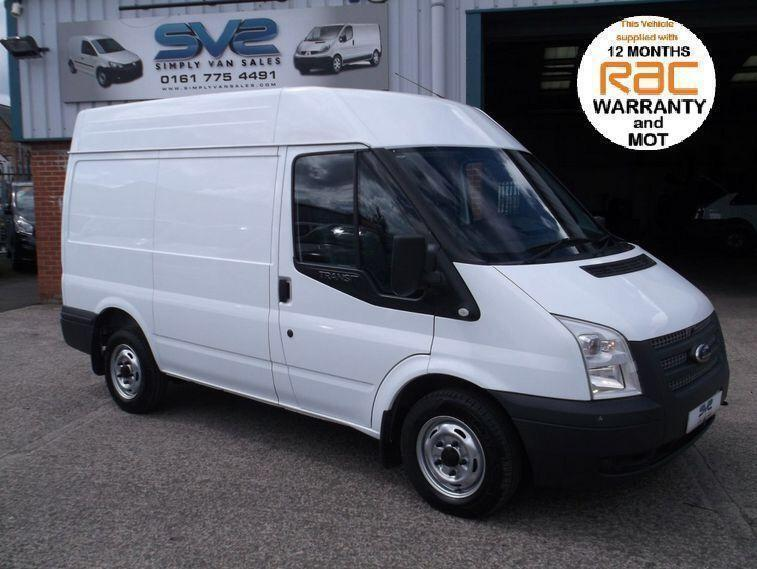 2013 13 FORD TRANSIT SWB MED ROOF 100BHP 6 SPEED FSH 1 OWNER ULTRA LOW 37K MILES