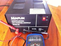 Maplin 13.8V DC Power Supply for CB Radio, etc