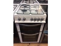 #11 New Ex-Display Montpellier MDG500LW White 50cm Lidded Gas Cooker £249