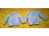 Boys Hand Knitted Cardigans