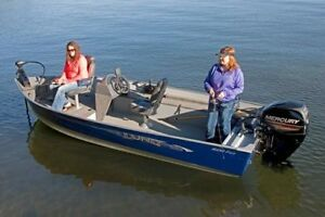 aluminum Boat With Steering Console ~ WANTED