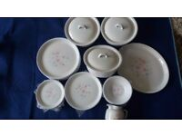Poole Pottery Dawn Ballet dinner set