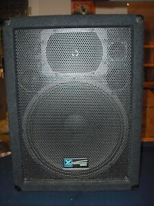 Pair of PA speakers and 300w Powered Mixer