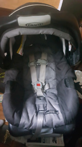 Infant car seat -Black and Red.