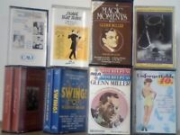 BIG BAND SWING SOUNDS FROM THE 1920s,30s &40s VARIOUS ARTISTS COMPILATION PRERECORDED CASSETTE TAPES