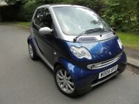2004 Smart fortwo, 0.7 City Spring Cabriolet 2dr - Automatic