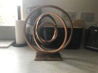 Next copper infinity ornament