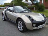 Smart Roadster 0.7 Light Targa 2dr, CONVERTIBLE. LONG MOT. CLEAN 2005 (05 reg), Convertible