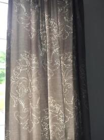 Next grey curtains
