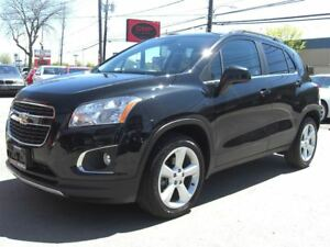2015 Chevrolet Trax LTZ AWD *Sunroof /2Tone Leather* *LOW KM!*