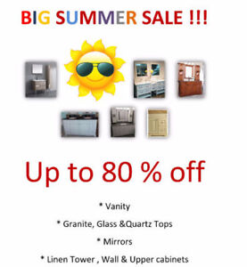 BIG SUMMER SALE !! up to 80% OFF! - BATHROOM KITCHEN - CLEARANCE