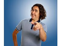 2 Micky Flanagan Tickets - Block 1 Row J - Tuesday 19th September - Liverpool Echo Arena - £155.