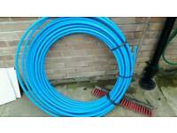 Water pipe blue