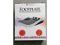 NEW LIFEMAX FOOTPLATE ELECTRIC HEATED FOOT WARMER - ITEM 1355 - HEAT THERAPY MASSAGE