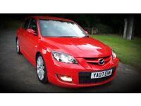 Mazda 3 MPS Aero Sport 256bhp 155mph True Red (Not VXR ST RS GTI EVO R32)