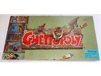 Ghettopoly. Crime Monopoly-style Rare Boardgame