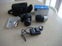 SONY DSLR A100 DIGITAL CAMERA AND ACCESSORIES