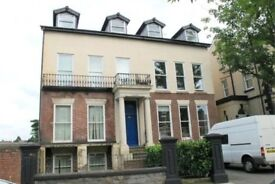 Furnished 1 bed flat in mansion house in conservation area; secure parking and intercom £495pcm