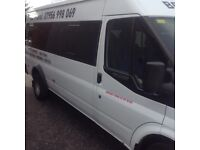 Ford transit mini bus LWB
