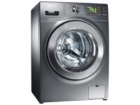 SAMSUNG - Ecobubble Washer Dryer 9kg Load 1400 Spin Graphite (only 18 months old, RRP 899£)