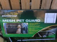 Dog car boot guard universal