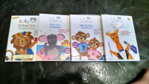 4 baby Einstein dvds