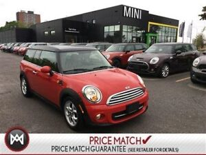 2013 MINI Cooper Clubman CHILI RED PANORAMIC SUNROOF HEATED SEAT