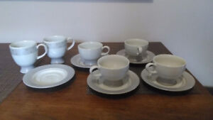 Mikasa stone craft tea and coffee set