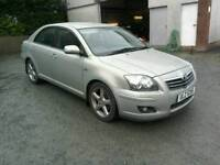 07 Toyota Avensis D4D Diesel T180 5 door Half leather trim very clean ( can be viewed anytime)