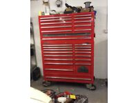 Toolbox/roll cabinet
