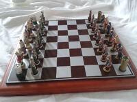 The Sheriff of Nottingham verses The Welsh Chess Set