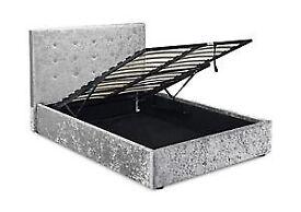 Brand new crushed velvet bed frame