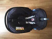 Mamas and papas Aton denim car seat