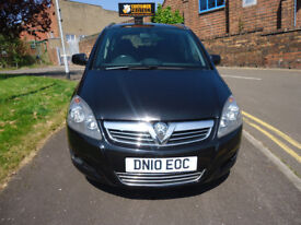 VAUXHALL ZAFIRA SRI 1.9 CDTI 7 SEATS 6 SPEED GEARBOX COME WITH 12 M MOT AND 3 M NATIONWIDE WARRANTY