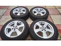 MSW alloys R16 very good condition 5 x 108