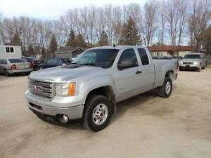 2012 GMC Sierra 2500 HD ext cab 4x4 short box 6.0L