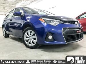 2015 Toyota Corolla S /CUIRE/SIEGE CHAUF/BT/CAM/DEMAR/COMME NEUF