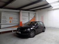 Volkswagen Golf SE NAVIGATION TSI BLUEMOTION TECHNOLOGY DSG (black) 2017-07-31