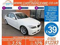 2009 BMW 320D 2.0 TD M-SPORT GOOD / BAD CREDIT CAR FINANCE FROM 39 P/WK