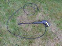 Karcher Pressure Washer gun only or with hose c clip black