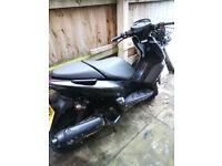 yamaha 125 maxster scooter - swap 49/50cc