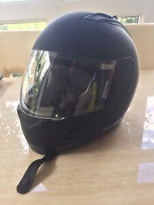 Motorcycle Helmet and Women's Motorcycle Jacket