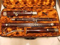Bassoon J. Poeschl Munich, German, like Heckel