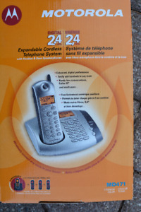 Motorola MD-471 Cordless Phones REDUCED PRICE