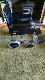 Days Lite Transport Wheelchair (Like New)