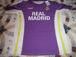 Real Madrid Official Lilac/White Fan Jersey