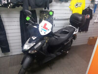 KYMCO AGILITY CITY 125CC SCOOTER - 11478 MILES - 0% FINANCE - AFTERMARKET UPGRADES! - £50 CREDIT!
