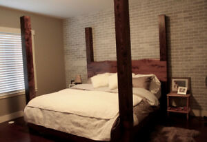 real wood beds