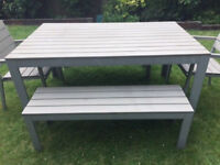 IKEA OUTDOOR DINING TABLE SET free man and van delivery
